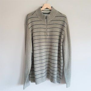 Eddie Bauer wool blend men's sweater.